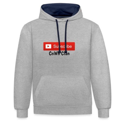 Subscribe CnWh Clan Merch - Kontrastluvtröja