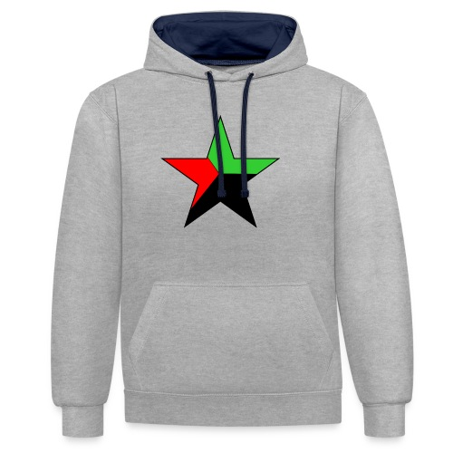 etoile martinique - Sweat-shirt contraste