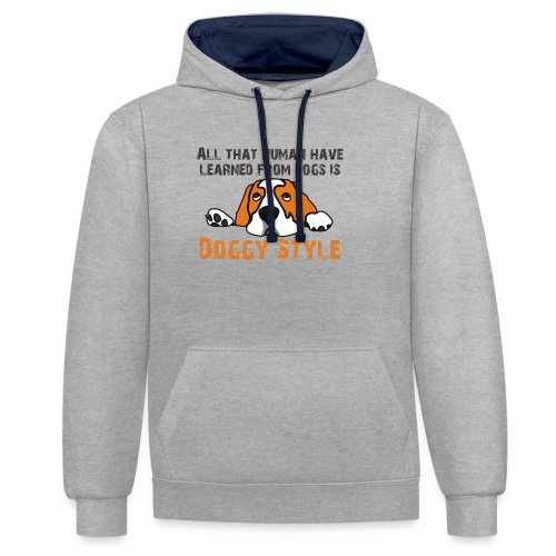 Doggy Style - Sweat-shirt contraste