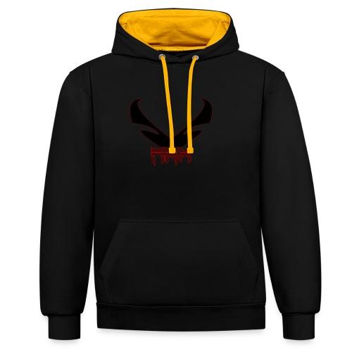 Black MRX - Kontrast-Hoodie