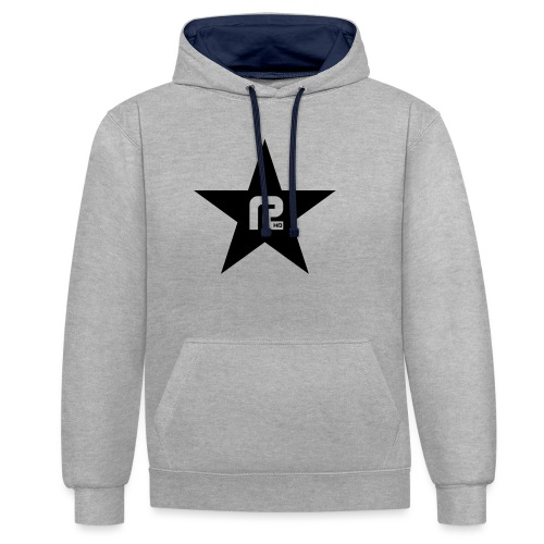 R-STAR-HD - Kontrast-Hoodie