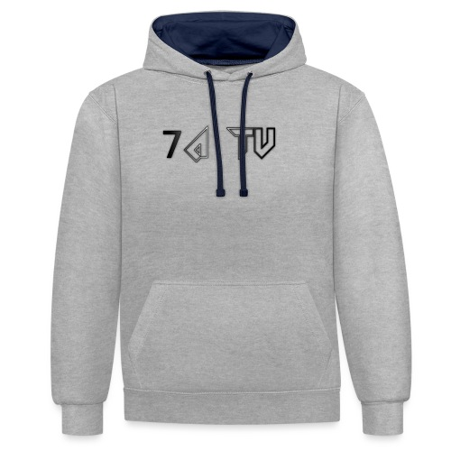 7A TV - Contrast Colour Hoodie