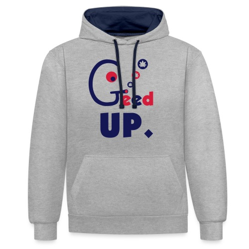 Geed Up - Contrast Colour Hoodie