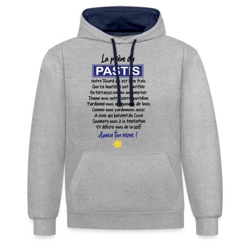 MA PRIERE DU PASTIS - Sweat-shirt contraste