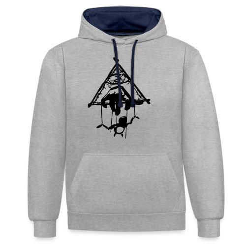 Killuminati Symbol - Kontrast-Hoodie