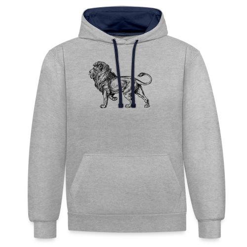 Kylion T-shirt - Contrast hoodie