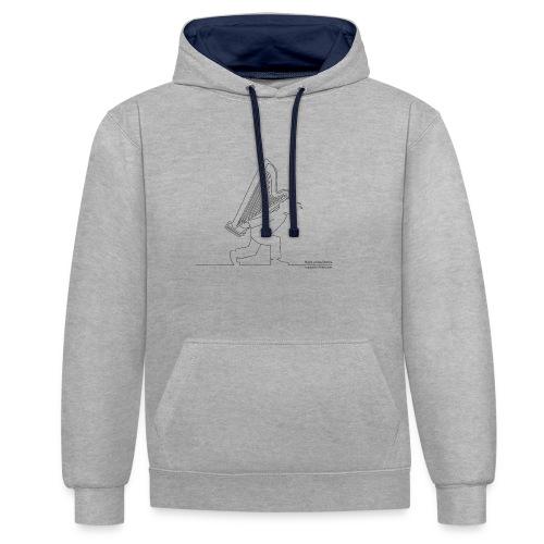 HARP - Contrast hoodie