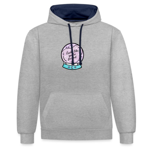 2020 Worst Year Ever Psychic - Contrast Colour Hoodie