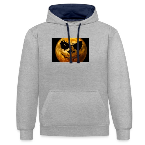 Halloween Mond Shadow Gamer Limited Edition - Kontrast-Hoodie