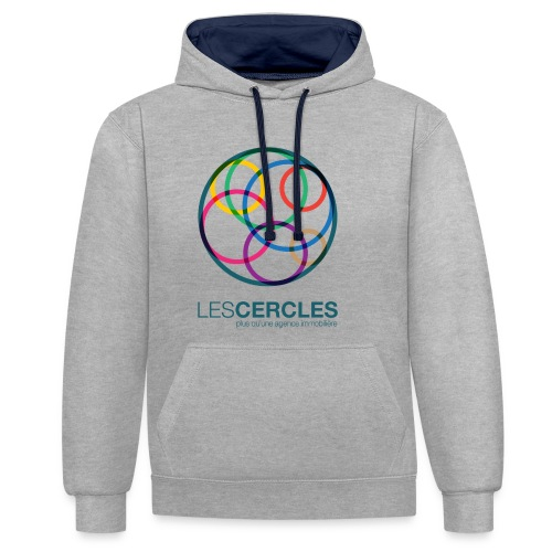 LESCERCLES 2019 Colour - Contrast Colour Hoodie