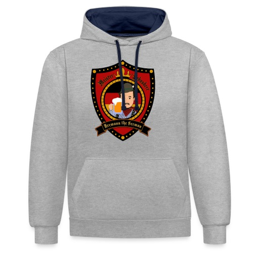 Hermann the German - Contrast Colour Hoodie