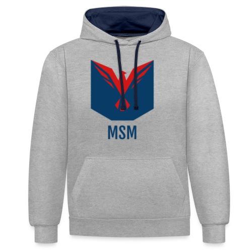 MSM ORIGINAL - Kontrast-hættetrøje