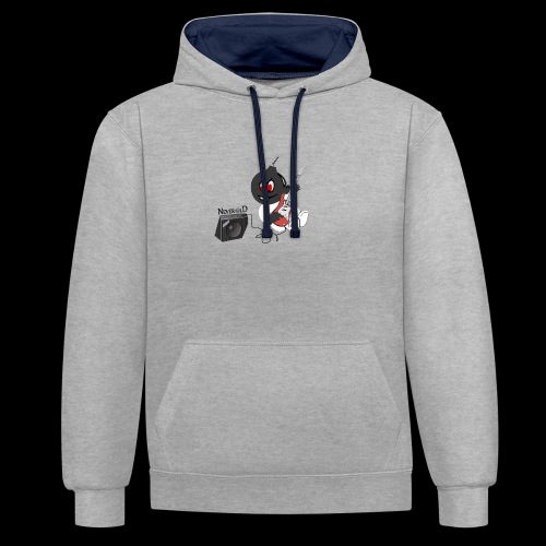 logo guitar - Sweat-shirt contraste
