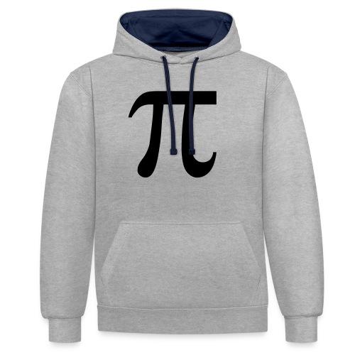pisymbol - Contrast hoodie