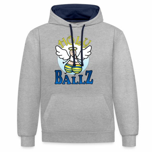Holy Ballz Charlie - Contrast Colour Hoodie