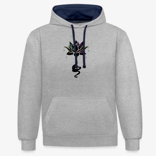 Marie - Lotus - Sweat-shirt contraste