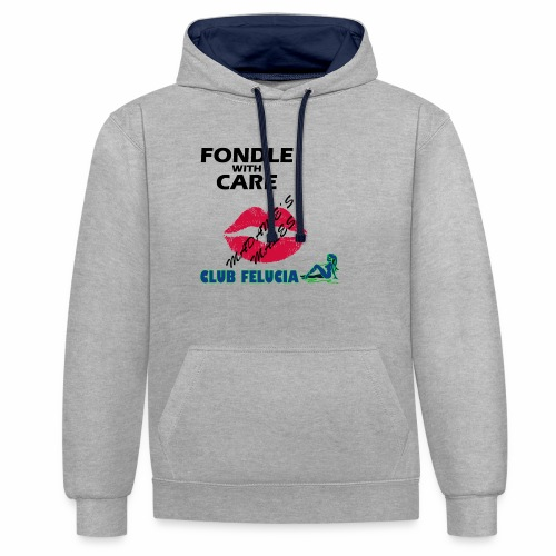FWC_males - Contrast Colour Hoodie