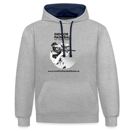 Fun4You T shirts - Kontrast-Hoodie