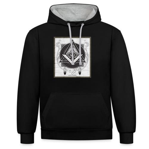 Illuminati - Sweat-shirt contraste
