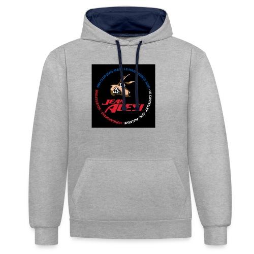 fanclubnoir - Sweat-shirt contraste