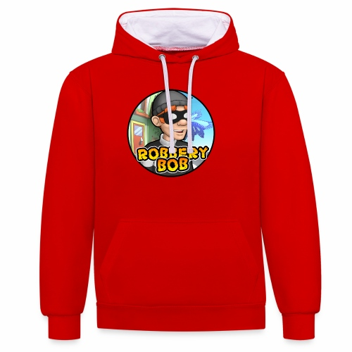 Robbery Bob Button - Contrast Colour Hoodie