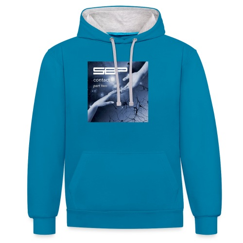 T-shirt Contact 2 - Contrast Colour Hoodie