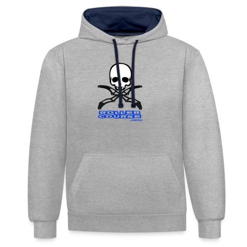 Skull rollercourse - Sweat-shirt contraste