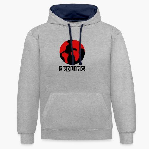 Erdling T-Shirt 2 - Kontrast-Hoodie