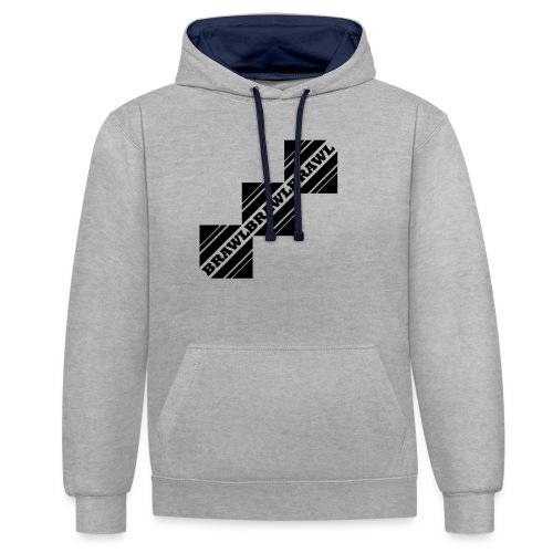 BRAWL TEST - Contrast hoodie