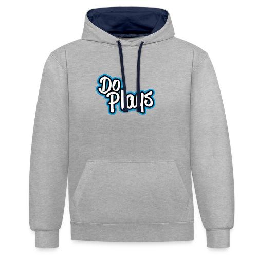 Mok   Doplays - Contrast hoodie