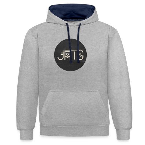 JATS indien circle - Sweat-shirt contraste
