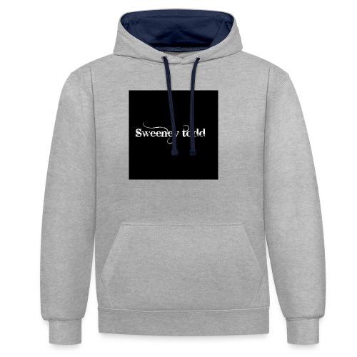 Sweney todd - Kontrast-hættetrøje