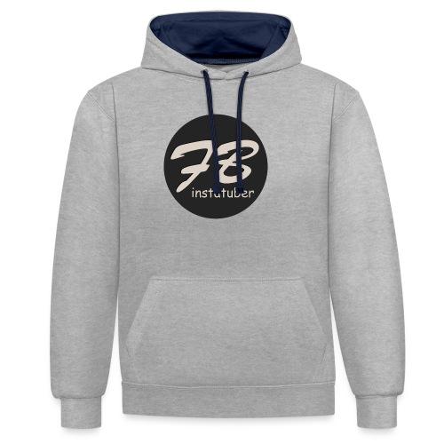 TSHIRT-INSTAGRAM - Contrast hoodie
