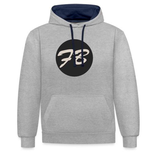 TSHIRT-INSTAGRAM-LOGO-KAAL - Contrast hoodie