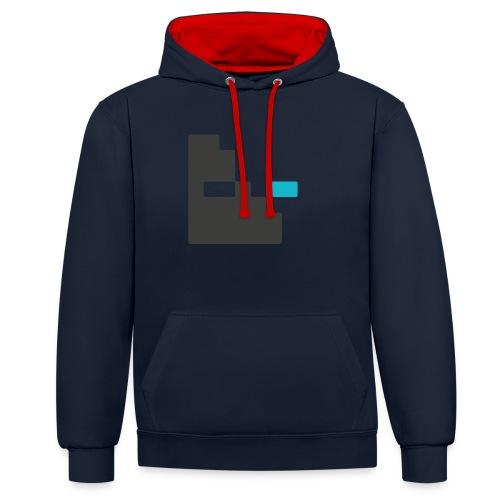 Mortu Logo - Contrast hoodie