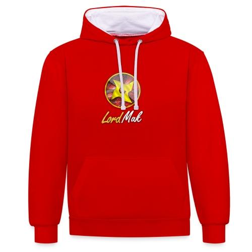 LordMuk shirt - Kontrast-hættetrøje