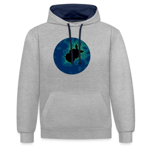 Lace Beetle - Contrast Colour Hoodie