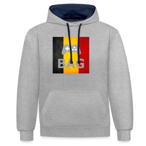 BelgiumAlpha Games - Contrast Colour Hoodie
