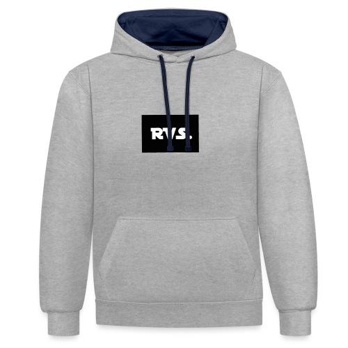 RVS - Contrast hoodie