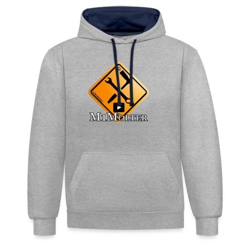M1Molter Logo - Kontrast-Hoodie