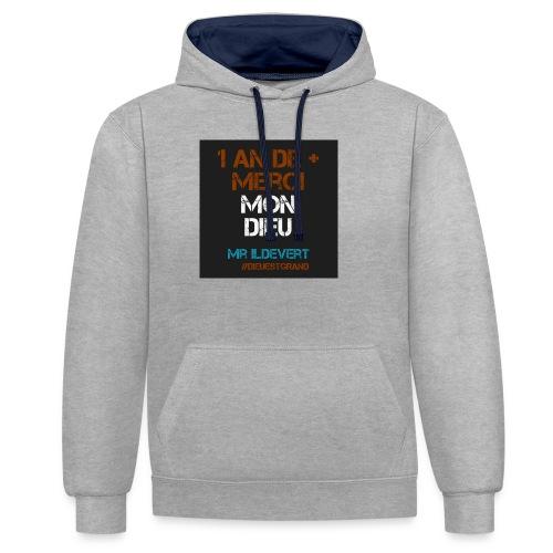 MMD - Sweat-shirt contraste