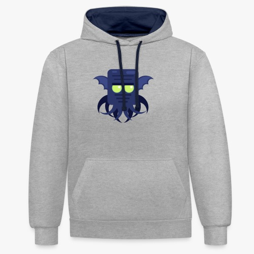Mini Monsters - Cthulhu - Kontrast-hættetrøje