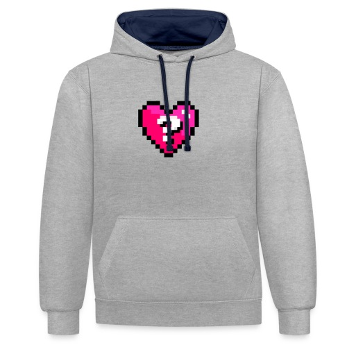 AQuoiValentin - Sweat-shirt contraste