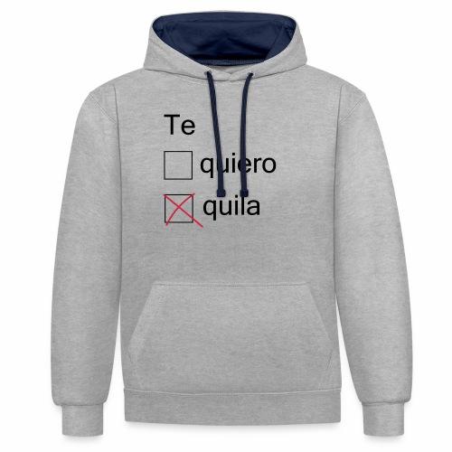 tequila - Sweat-shirt contraste