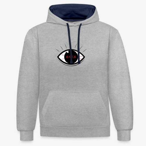 Hooz's Eye - Sweat-shirt contraste