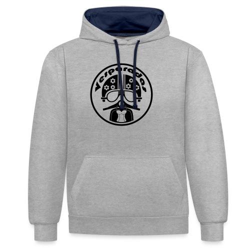 Vesparadas - Contrast hoodie