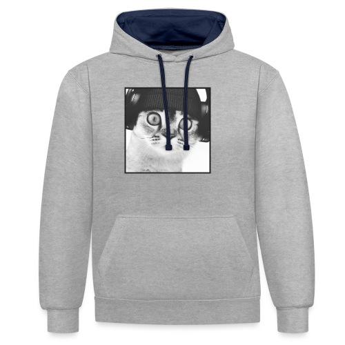 DJ CHAT - Sweat-shirt contraste