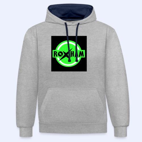 RoxHam-Button-2019 - Kontrast-Hoodie