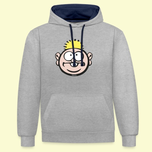 DIRKJAN - Contrast hoodie