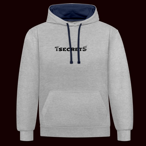 TsecretS - Kontrast-Hoodie